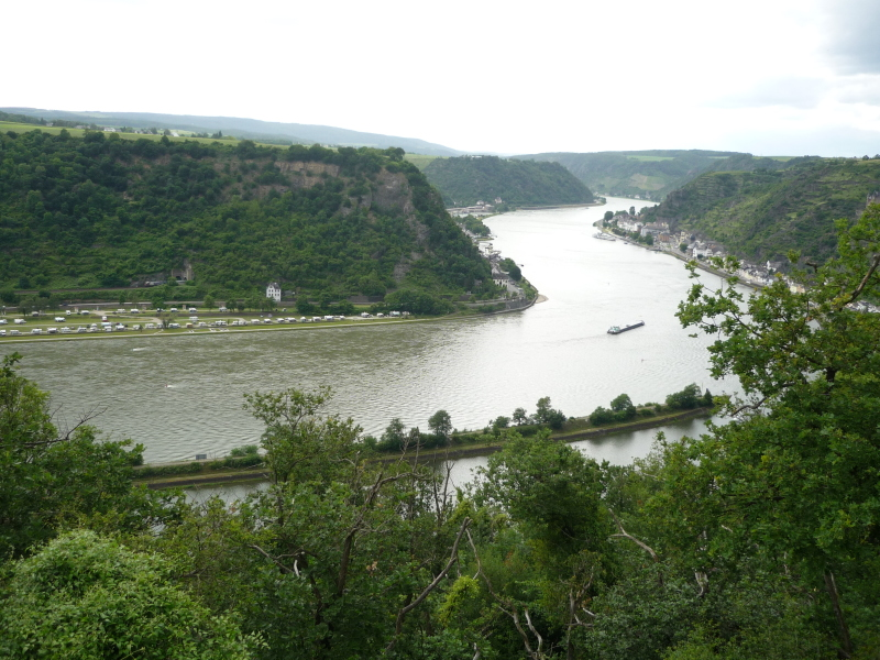 The Rhine from the Side of the amphitheatre